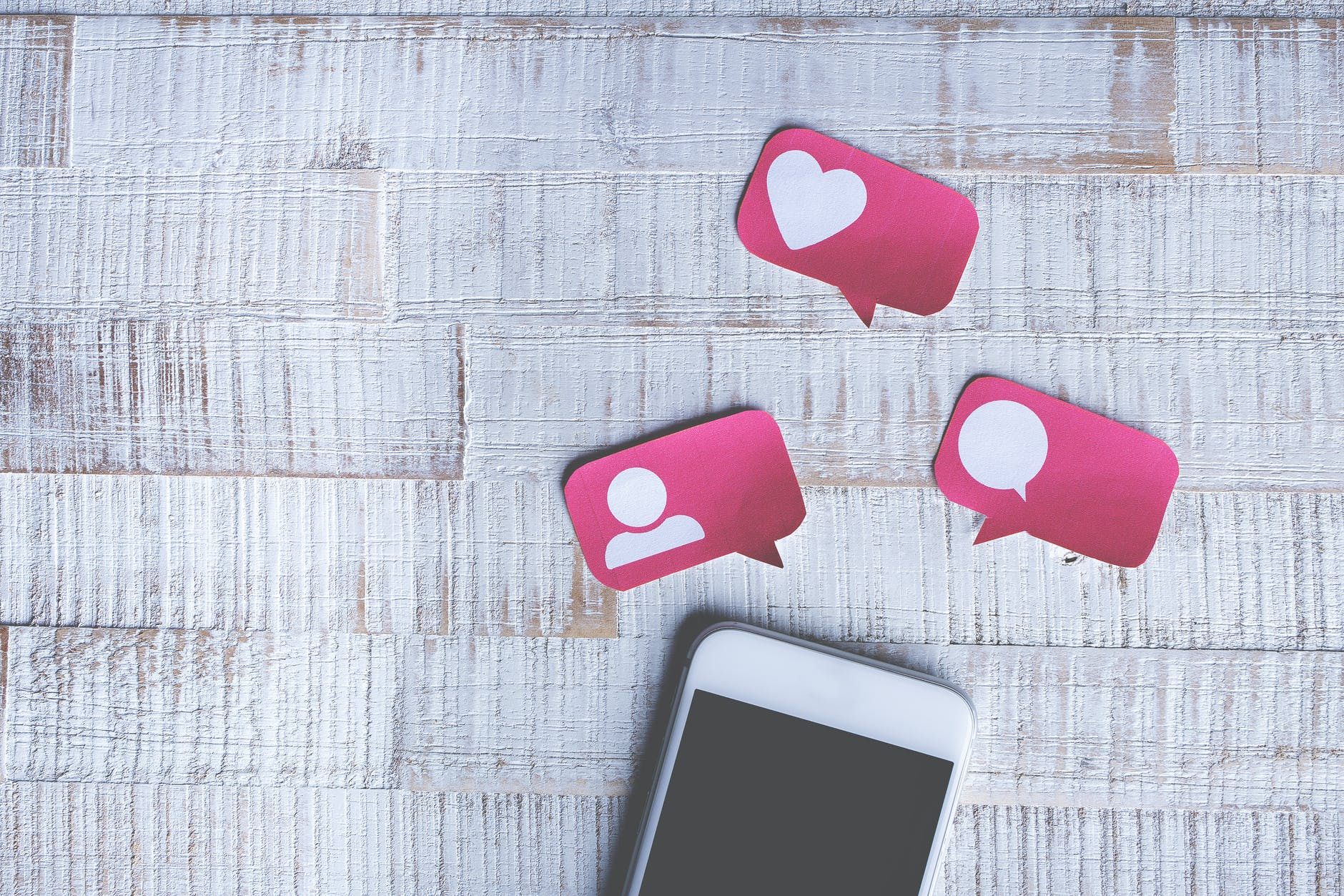 find us on social media