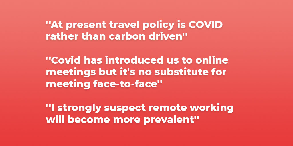 COVID-19 versus Carbon footprint and sustainability